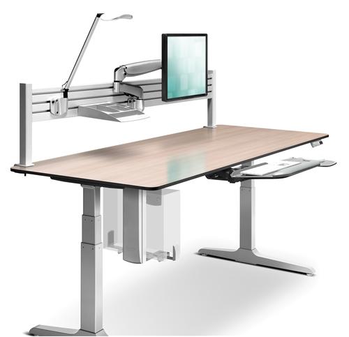 Workrite Sierra Hx Electric Adjustable Desk 2‑leg Rectangular