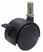 Large Locking Chair Caster 60 Mm Hard Or Soft Tread