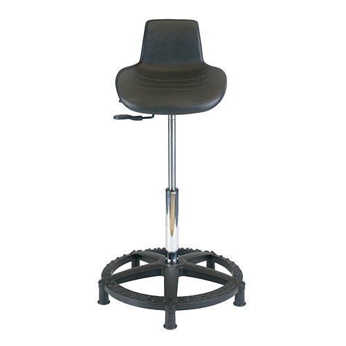 Office Master Workstool WS15 with Unibody Base and non-rolling glides  sc 1 st  Back Designs Inc & Office Master Work Stool WS15 with Unibody Ring Base islam-shia.org