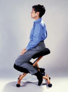 Jobri F1450 Classic Height-Adjustable Kneeling Chair